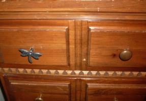 close-up dresser