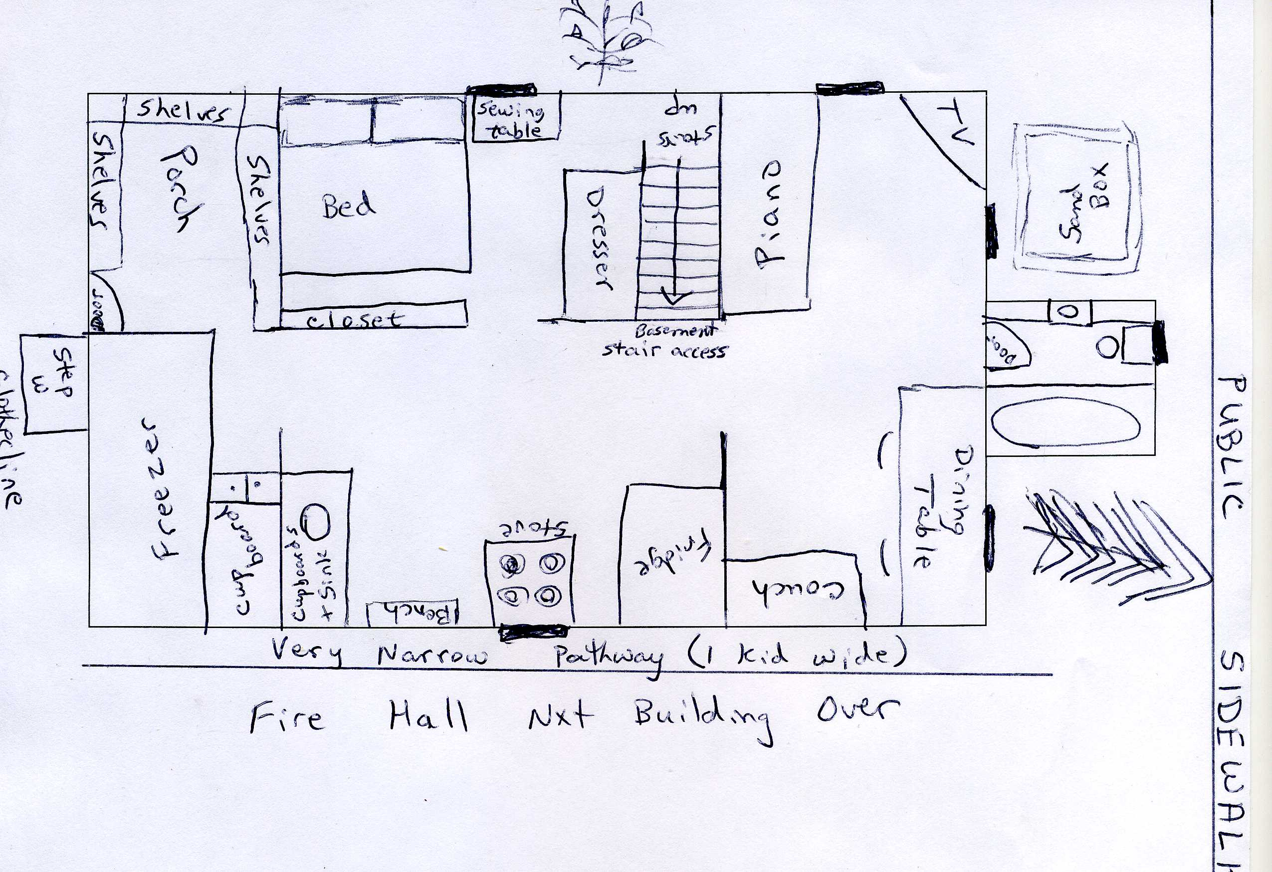 Places I Ve Lived The Hahn House Solitary Spinster: how to read plans for a house