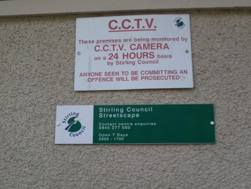 Callander CCTV