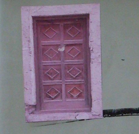 Small Pink Door