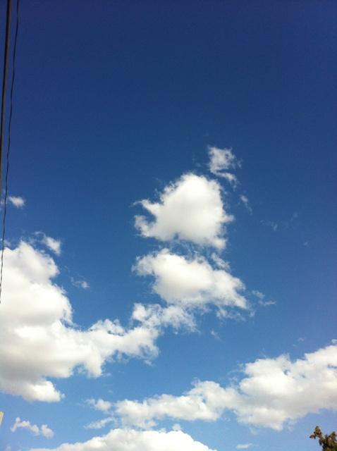 Blue Sky w clouds