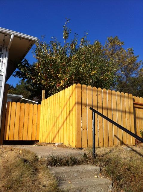 Tilted Fence