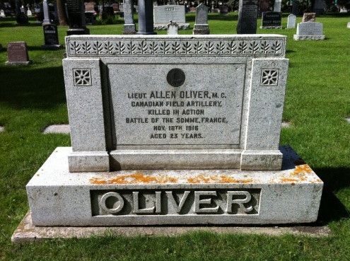 WW1 Grave - Edmonton