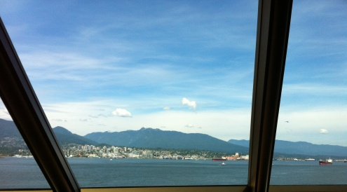 Leaving Vancouver