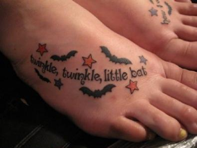 twinkle-twinkle-little-bat-tattoo-design-on-feet