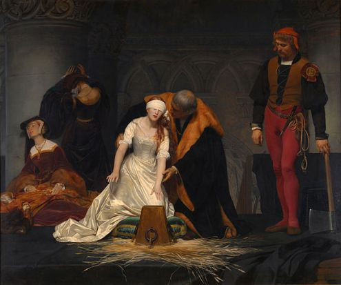 Execution of Lady Jane Grey by Paul Delaroche
